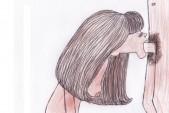 Free porn pics of Dutch Girl - drawings - rough sketch 1 of 1 pics