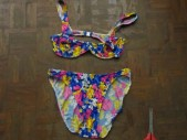 Free porn pics of Foral Bra Top Bikini Meets Scissors and is Cut off 1 of 8 pics