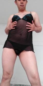 Free porn pics of Black Babydoll 1 of 7 pics