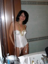 Free porn pics of Classy Brunette MILF 1 of 49 pics