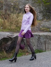 Free porn pics of Skinny Russian Cunt in Pantyhose 1 of 10 pics