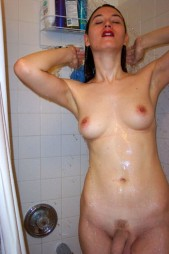 Free porn pics of Misscheetah - Chick with a dick 1 of 1 pics